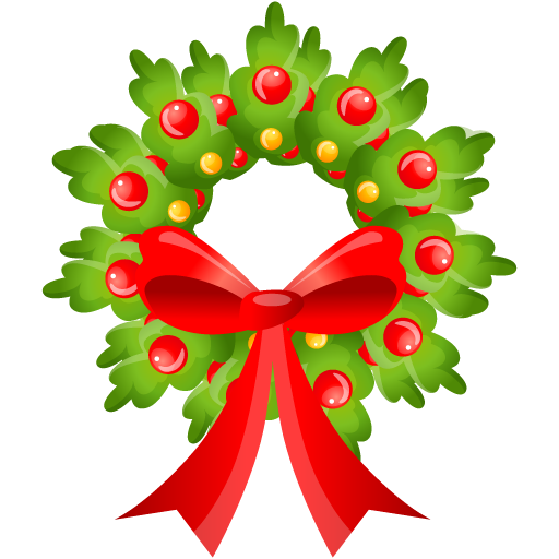 Merry Christmas clipart holiday garland Clipart Wreath christmas Clipartix wreath