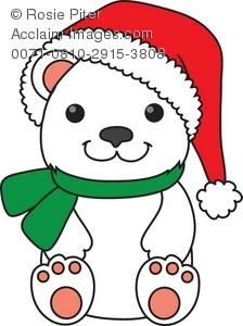 Cartoon clipart polar bear Polar Panda Clipart christmas%20polar%20bear%20clipart Christmas
