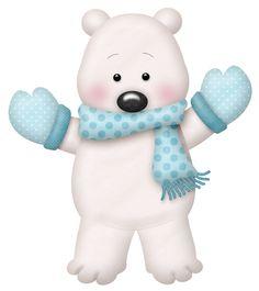 Winter clipart polar bear Clipart Яндекс Winter bear Polar