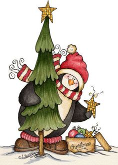 Penguin clipart country ART ClipartChristmas MALE CARDINALS Scrapbook