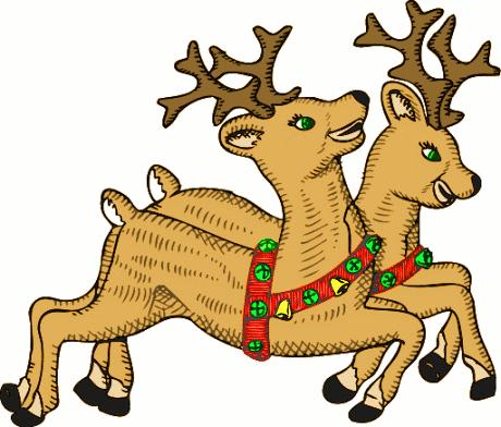 Holydays clipart raindeer Reindeer Clipart Christmas Clipart Clipart