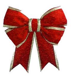 Ribbon clipart xmas #7