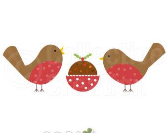 Robin clipart cute #2