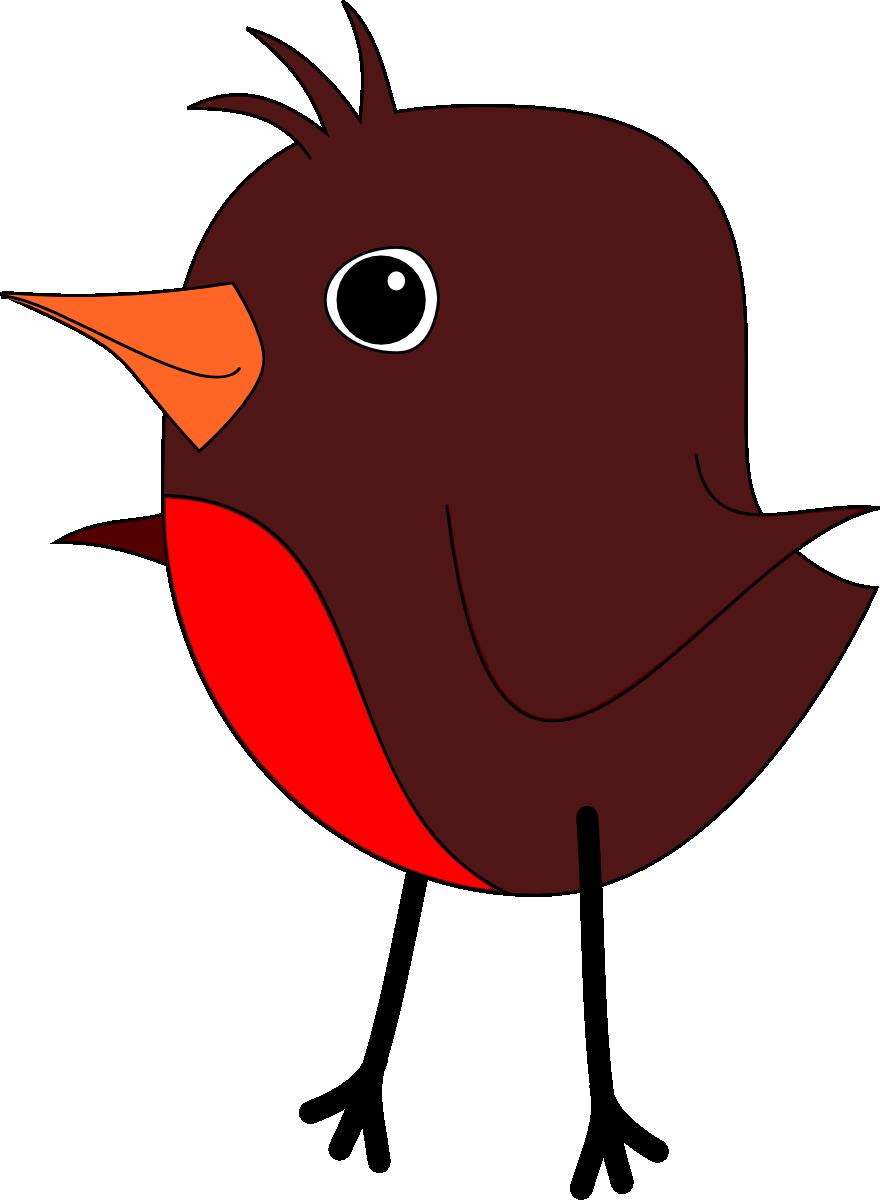 Robin clipart cute #1