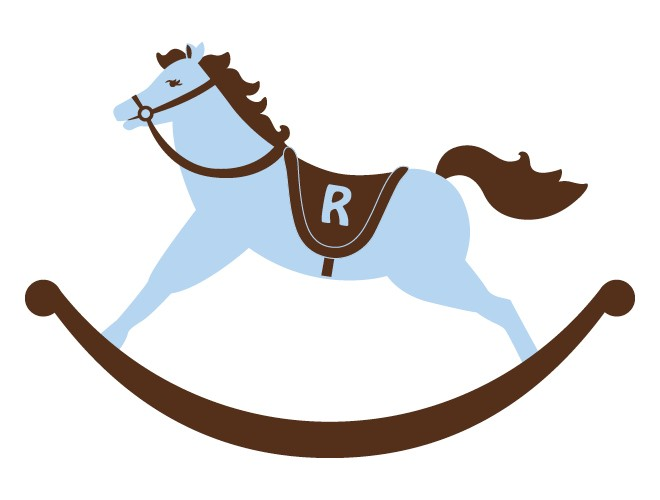 Blur clipart rocking horse Clip on Art Horse Download
