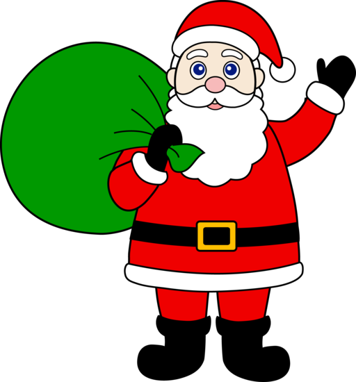 Larger clipart santa Santa schliferaward Clause Santa com