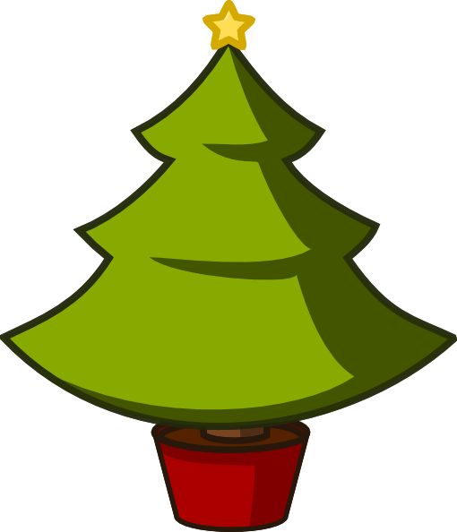 Christmas Tree clipart simple Com Clip this Simple