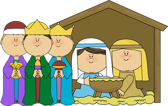 Angel clipart nativity scene Collection Clipart Christmas Christmas Stable