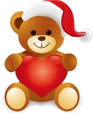 Teddy clipart xmas Clipart Gift clipart bear christmas