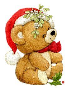 Teddy clipart xmas TEDDY on ART Christmas Best