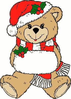 Teddy clipart xmas Bear Christmas christmas christmas