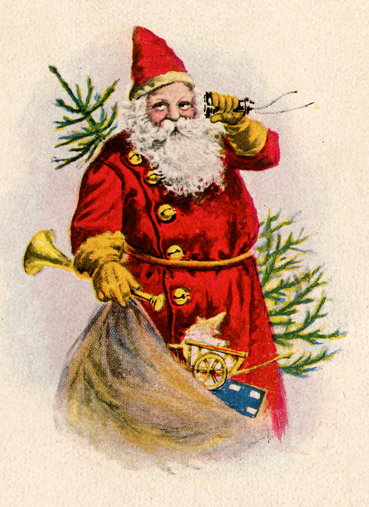 Country clipart santa Pictures Christmas art collection christmas