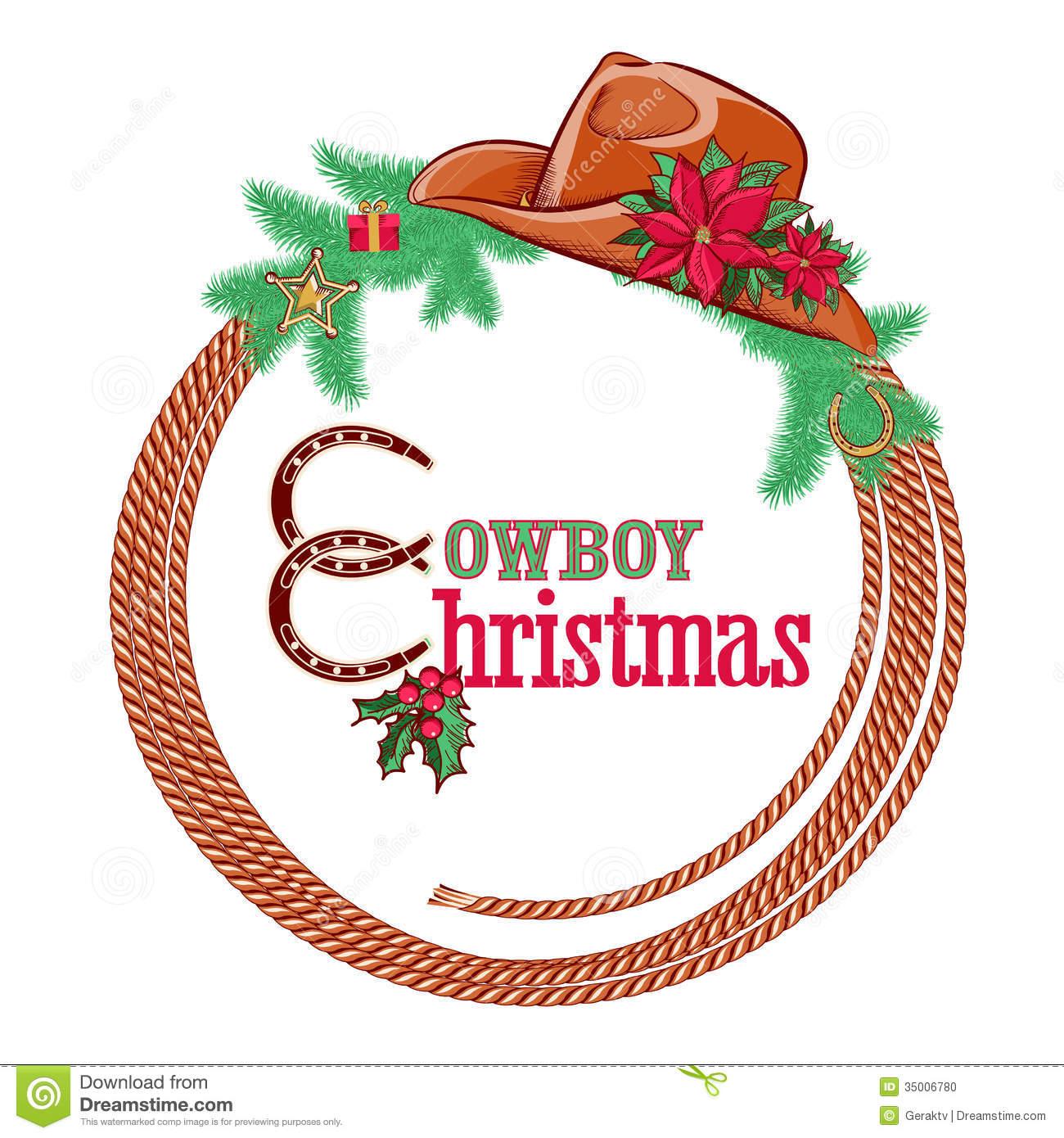 Cowboy clipart christmas cowboy Christmas Cowboy Clipart