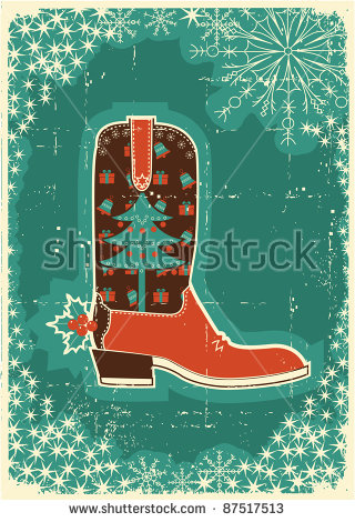 Christmas clipart western Cute cowboy 105KB clipart christmas