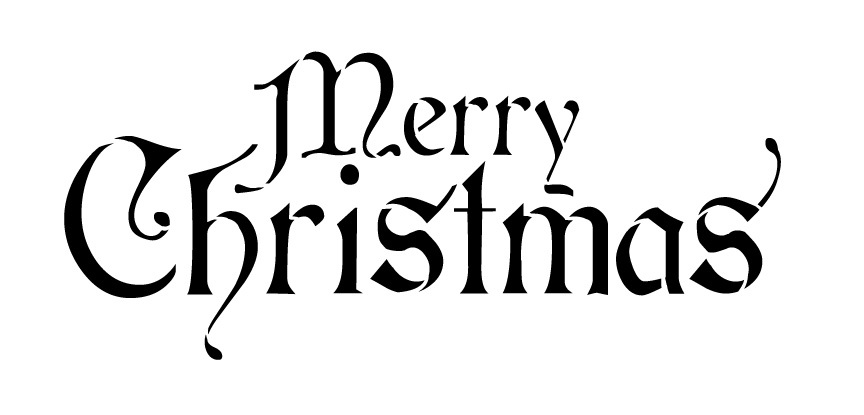 Christmas clipart word art Words Collection & Clipart Clipart