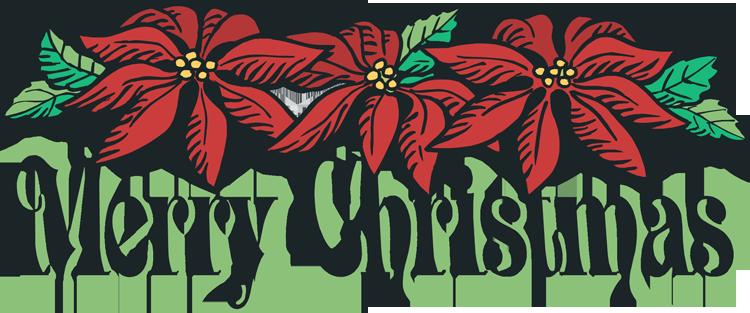 Christmas clipart word art Merry words clip clipartfox christmas