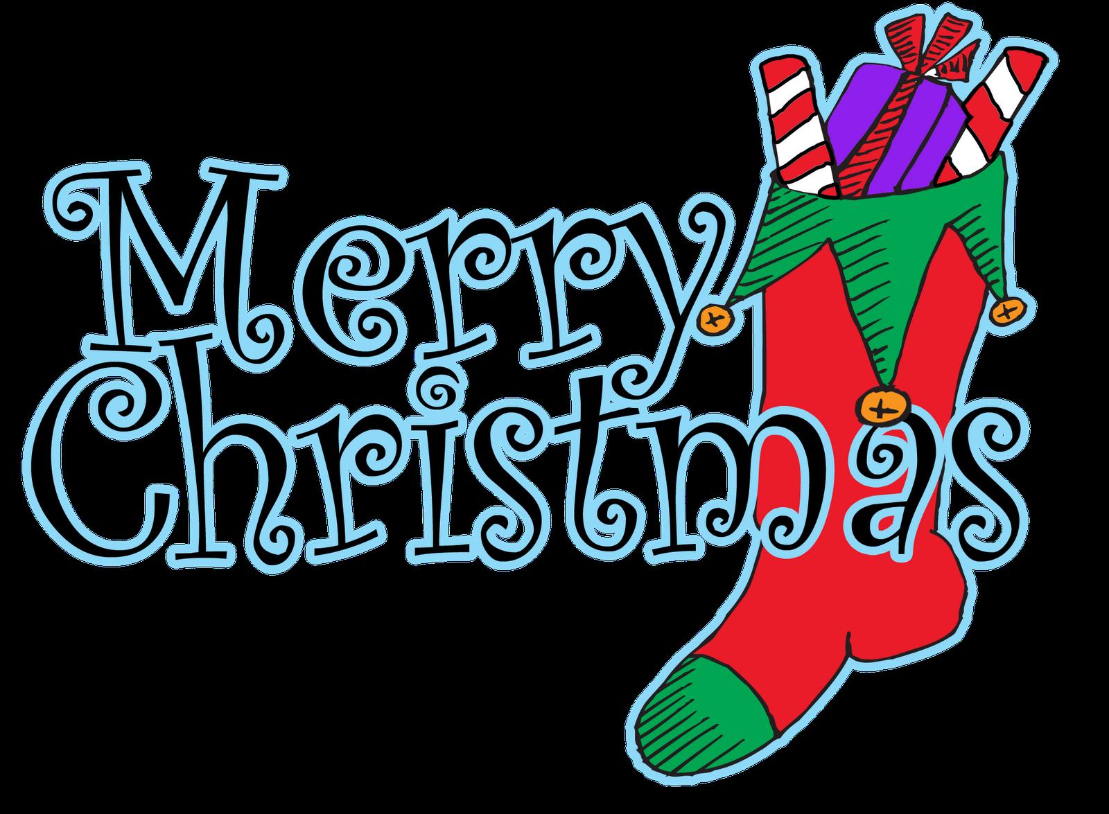 Christmas clipart word art Merry christmas christmas animated Merry