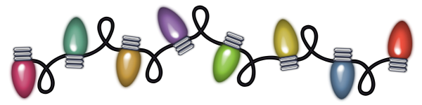 Christmas Lights clipart  Clipart Gallery Christmas PNG