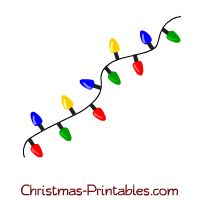 Christmas Lights clipart cute Clipart colorful of on 101