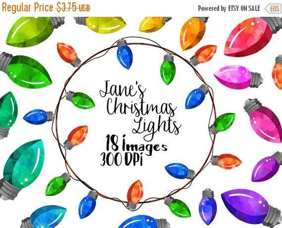 Christmas Lights clipart noel Download Clipart Lights Lights Studio