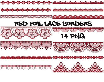 Christmas Lights clipart red and blue Borders fairy clipart blue lace