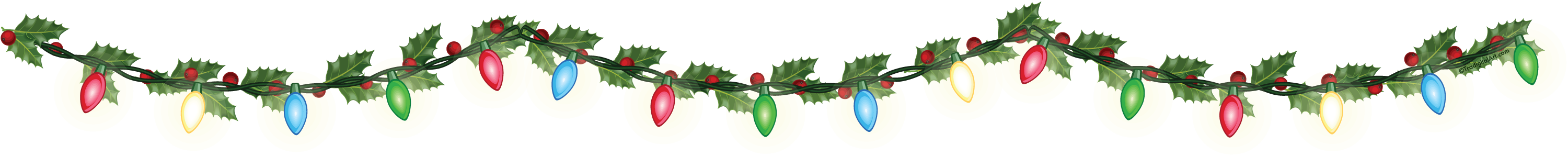 Christmas Lights clipart reminder January Schedule Holiday PCS 2nd