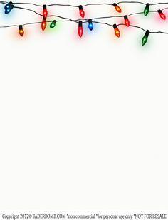 Christmas Lights clipart vintage Can  on freeprettyprintables thank
