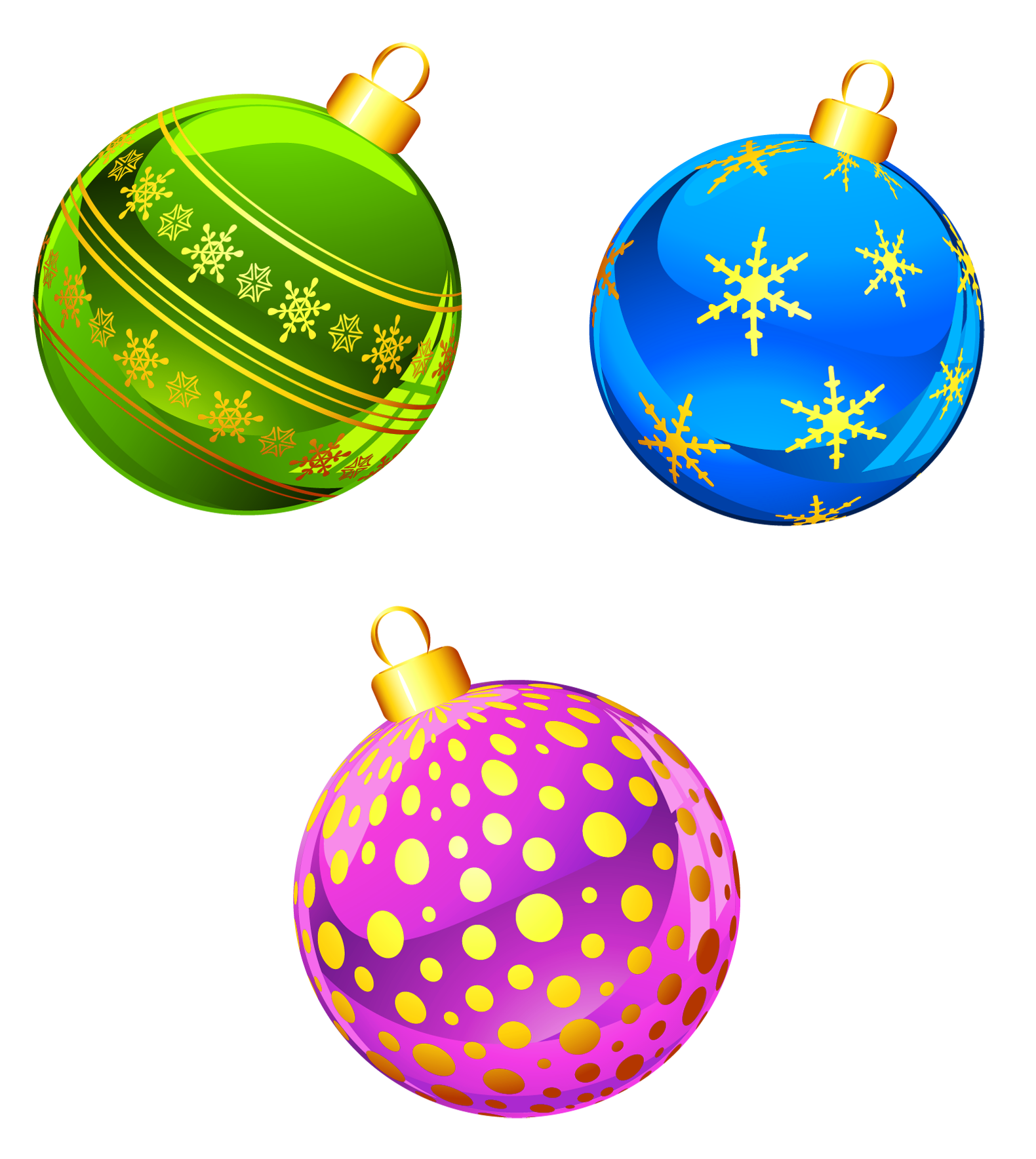 Background clipart christmas decoration Ornaments  full Christmas View