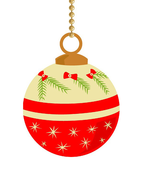 Yellow clipart ornament Pastel pastel Christmas color clip