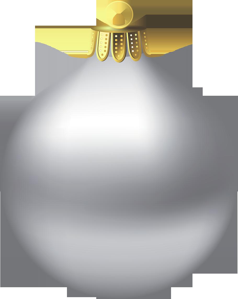 Silver clipart silver christmas Lights Ornament Christmas and Christmas