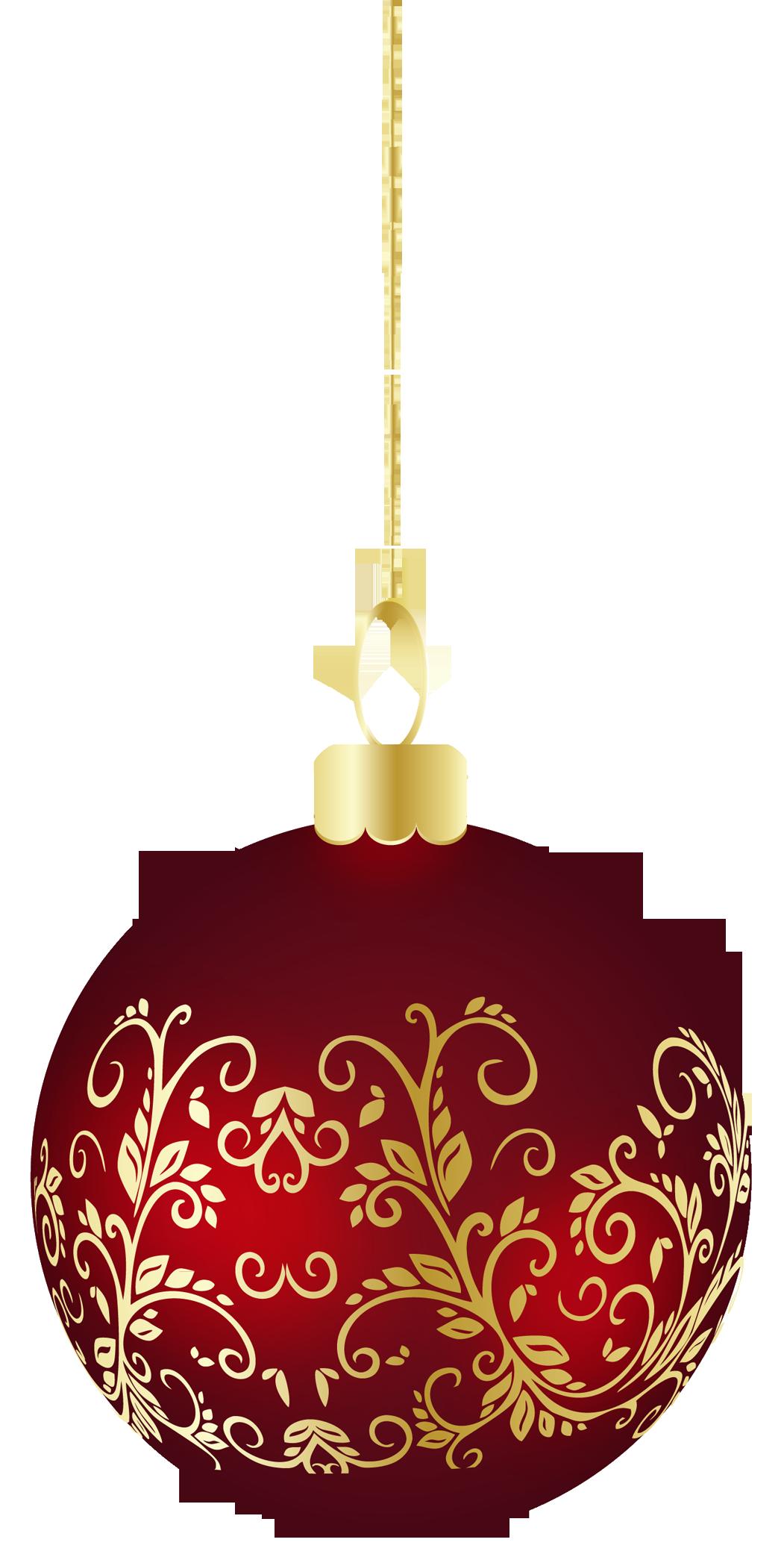 Christmas Ornaments clipart large Large Christmas Transparent Ornament Christmas
