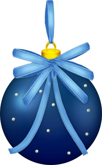 Christmas Ornaments clipart object ART Pinterest CHRISTMAS images BLUE