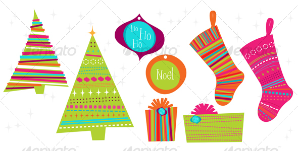 Christmas Ornaments clipart object Christmas alavalleur Objects by Illustrations