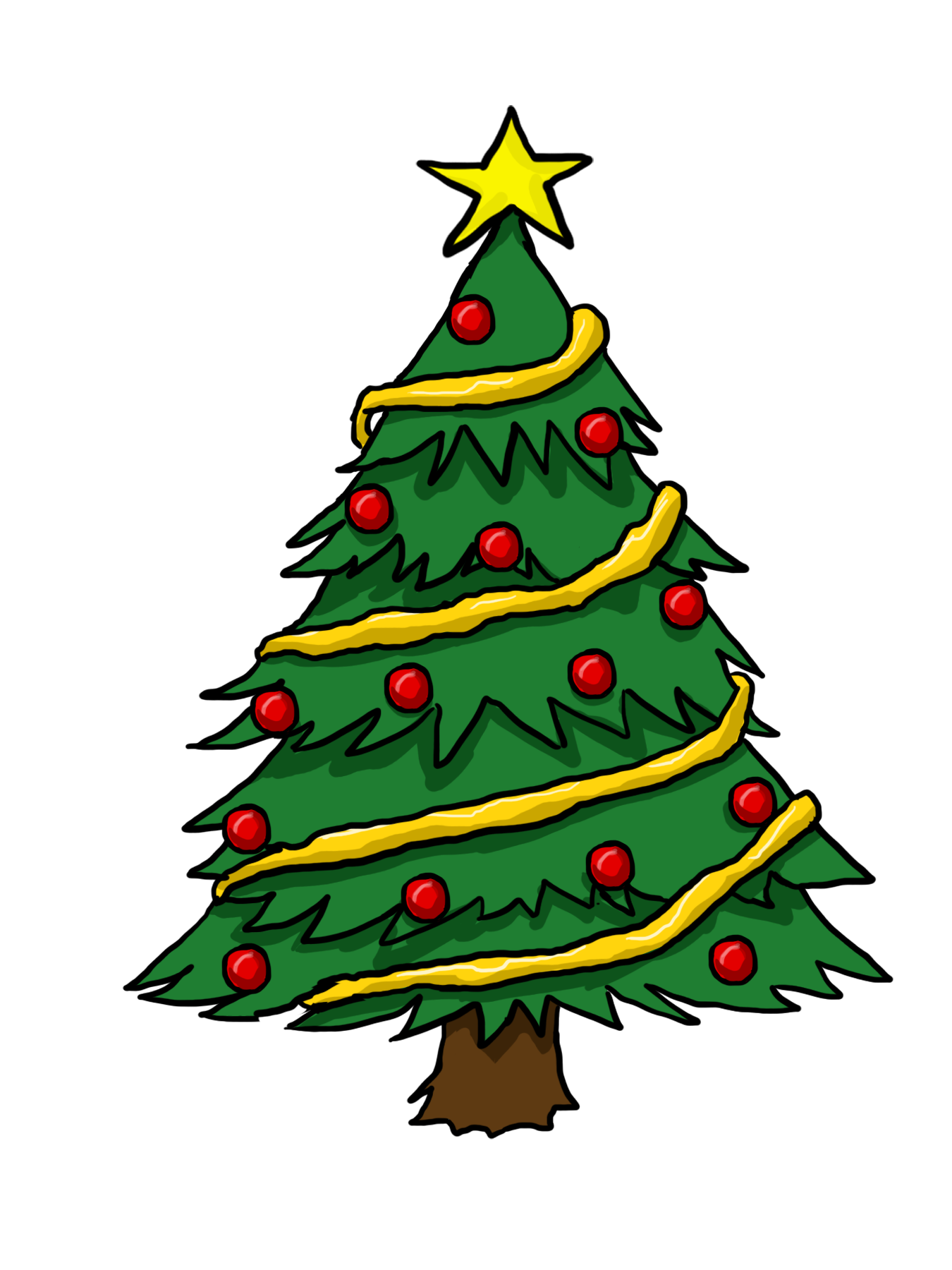Western clipart christmas tree Christmas%20Day%20clipart  Panda Christmas Tree