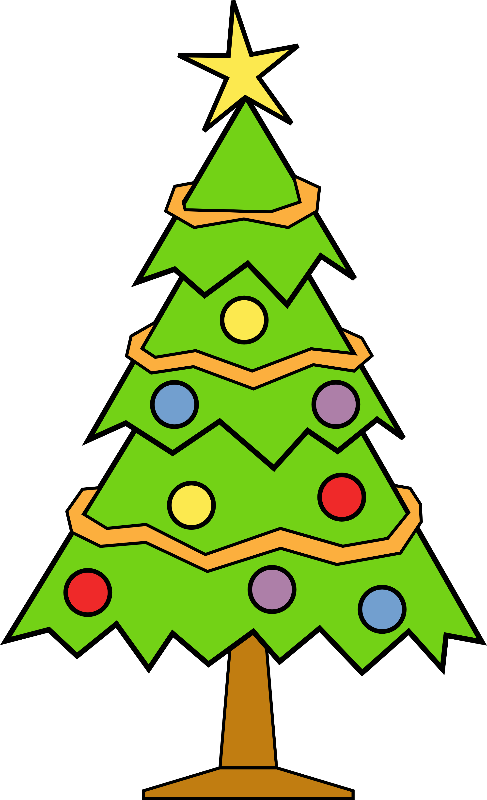 Christmas Ornaments clipart large Tree tree clipart Cliparting Clipart