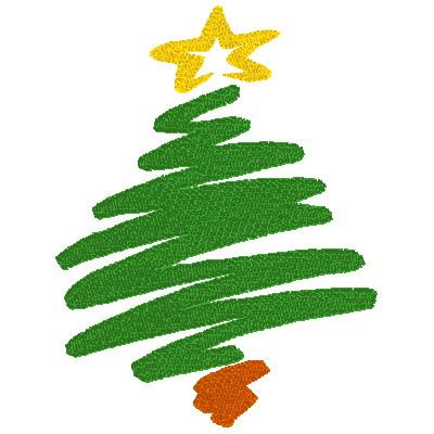 Christmas Tree clipart abstract Tree  clip christmas tree
