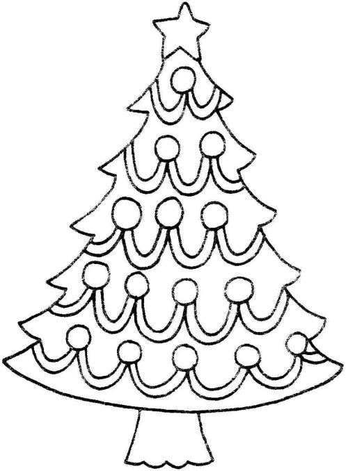 Christmas Tree clipart black and white Clipart com Art Clipartion Black