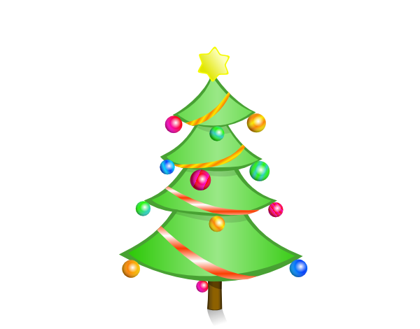 Christmas Ornaments clipart small christmas Skinny christmas Clipart Xmas tree