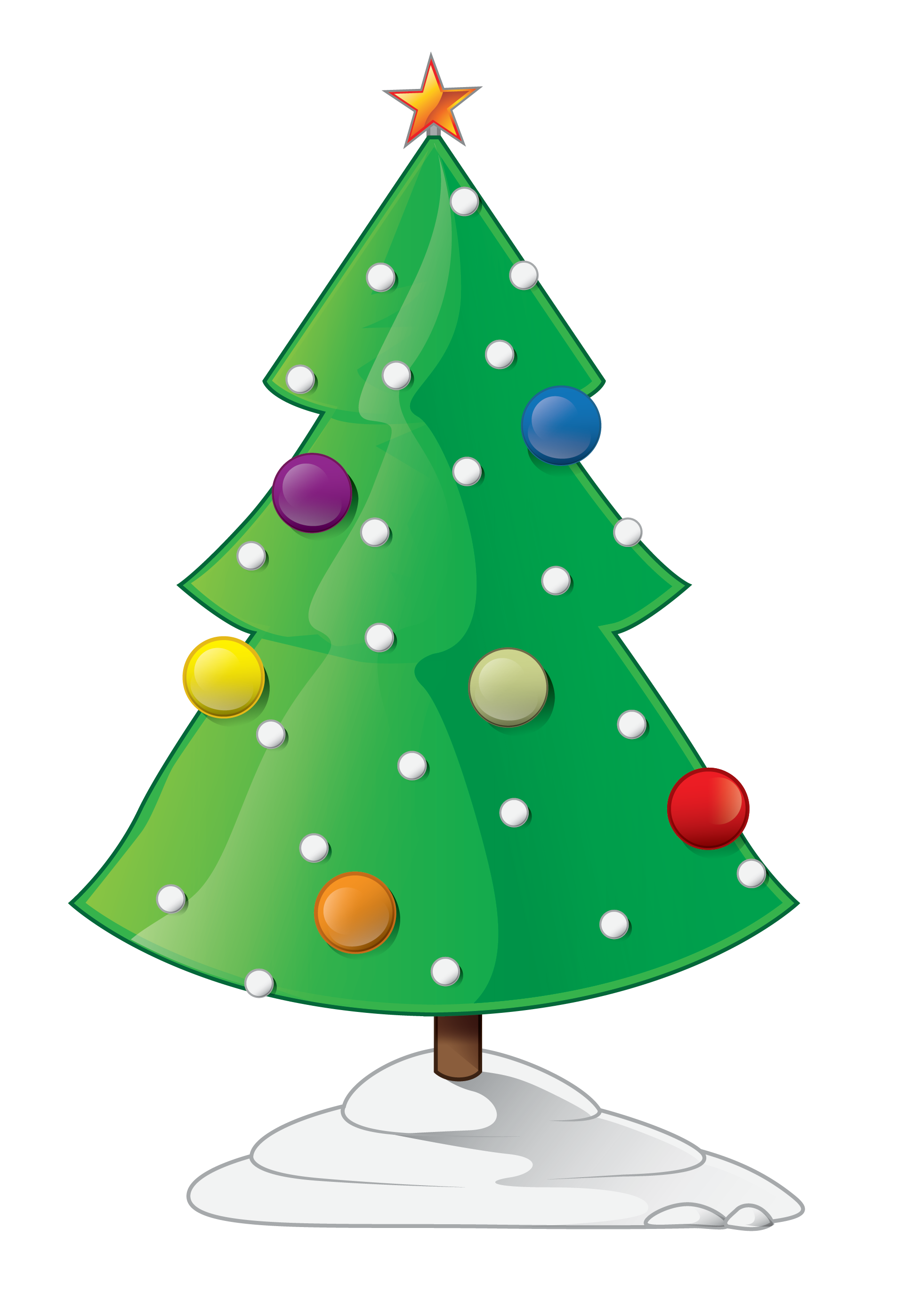 Christmas Tree clipart christmas card Public to Clip 3 Free