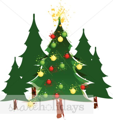 Pine clipart forestry Christmas Tree Image Ornaments Forest