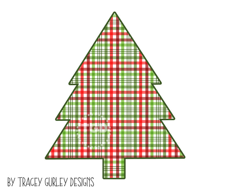 Christmas Tree clipart christmas party Clip clipart file is plaid