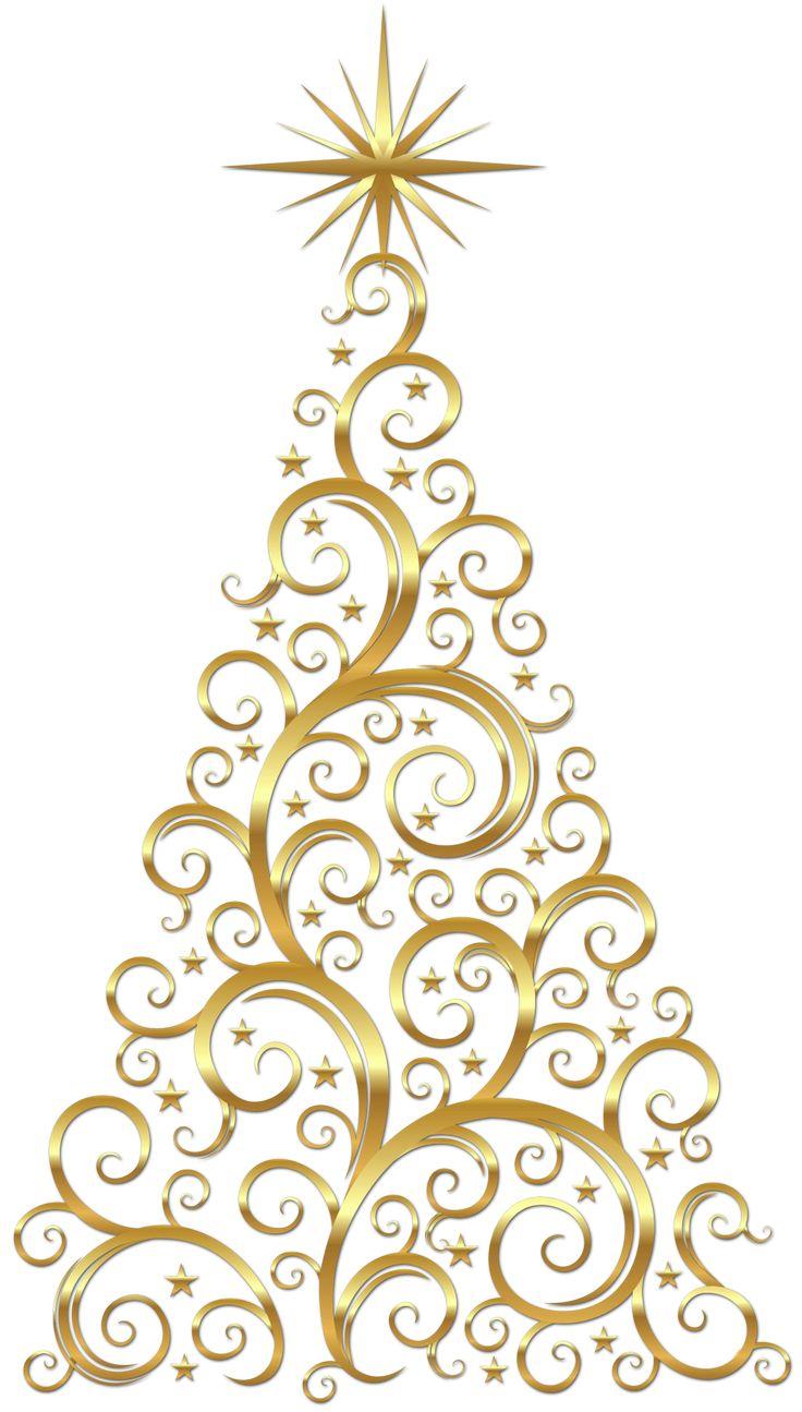 Christmas Tree clipart classy Tree Scroll on ideas Best