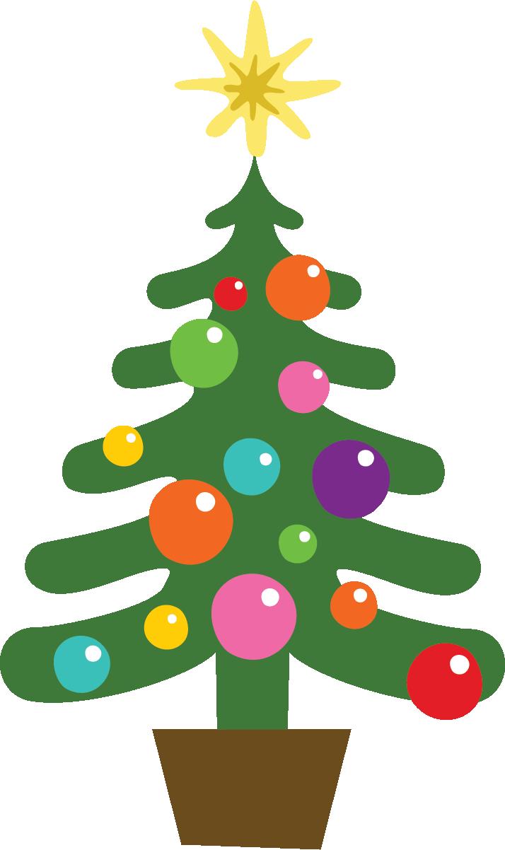 Holydays clipart december holiday Tree December png clip art