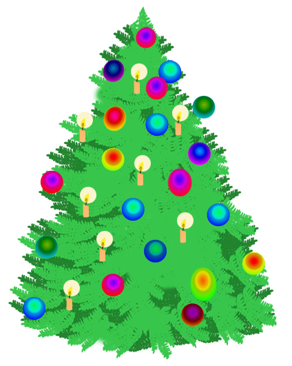 Christmas Tree clipart decorative Christmas with Christmas christmas ·