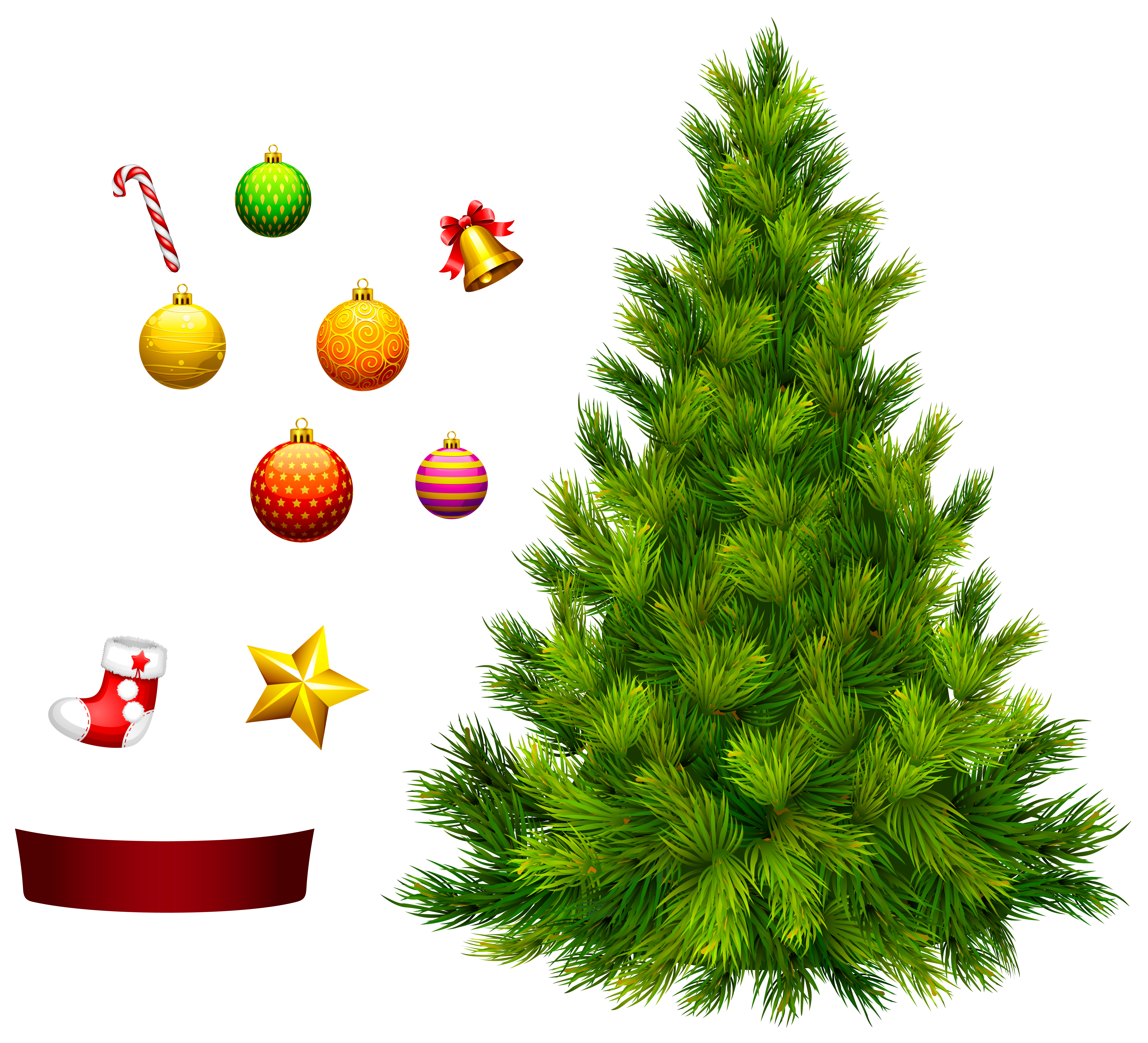 Christmas Tree clipart decorative PNG Tree PNG Tags: Christmas