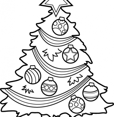 Christmas Tree clipart easy And collection and black Christmas