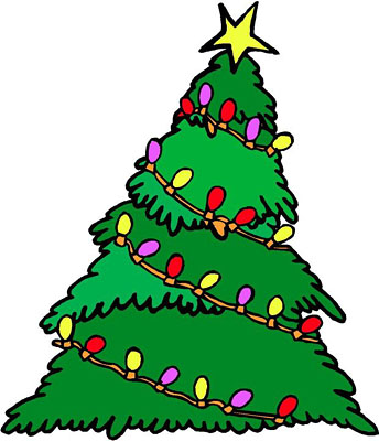 Christmas Tree clipart easy For Season Holiday Easy Christmas