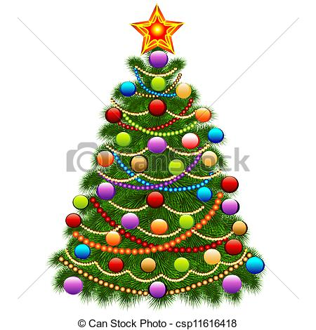 Christmas Tree clipart logo And of Clip and balls