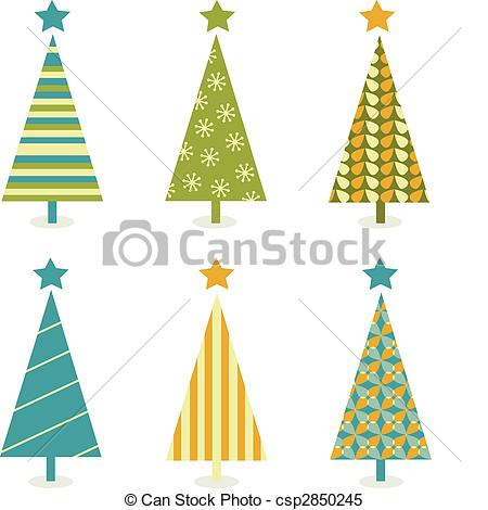 Christmas Tree clipart logo In christmas of Vector christmas