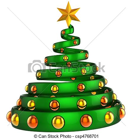 Christmas Tree clipart logo  Modern Christmas Modern tree
